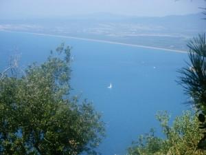udsigt fra Acropoli di Populonia