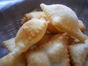 Friturestegt brød - opskrift på Panzerotti