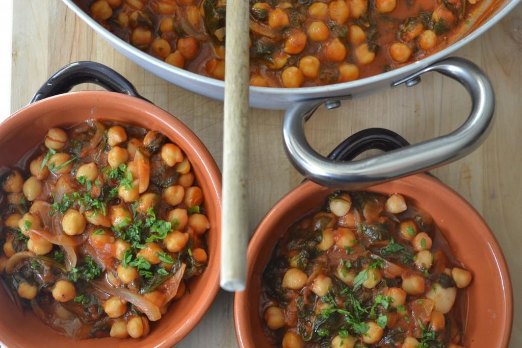 Kikærtesuppe med sølvbeder og ansjos - opskrift - Cacciucco di ceci