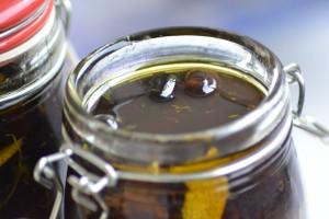 Hjemmesyltede oliven