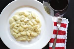 Gnocchi alGorgonzola – opskrift på Gnocchi i Gorgonzolasauce