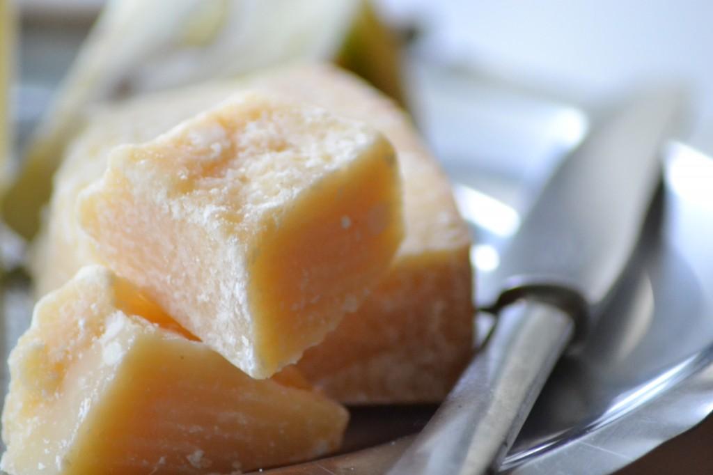 Risotto med tørrede Karl Johan svampe og 48 måneders Parmigiano Reggiano