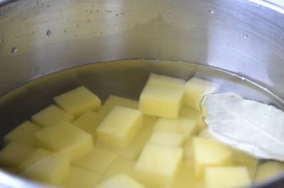 Ovnstegte kartofler med rosmarin
