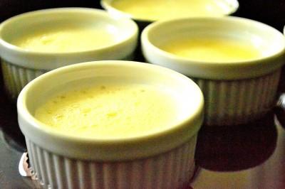 Crème Caramel i Bain-Marie