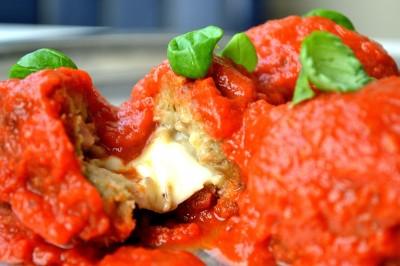 Auberginer i tomatsauce