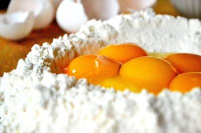 Pastadej - italiensk hvedemel og æg