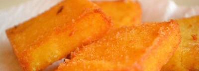 Friteret polenta