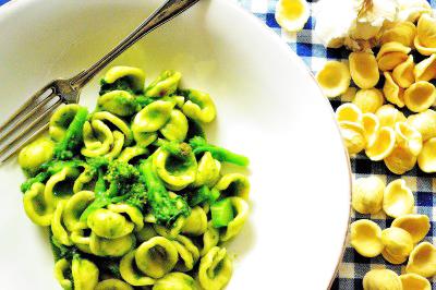 Orecchiette med italiensk mini-broccoli