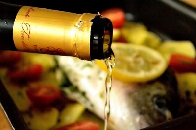 Guldbrasen med krydderurter