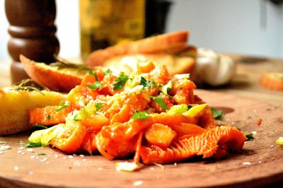 Komave i tomatsauce
