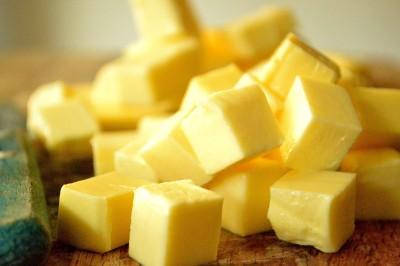 Smør i tern